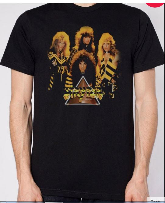 Stryper To Hell With the devil T-Shirt Front
